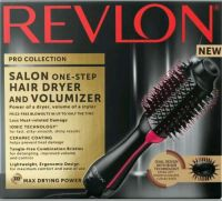 Revlon One-Step Hair Dryer & Volumizer Hot Air Brush, Cool Mint