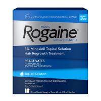 Rogaine Men's Hair Loss & Thinning Treatment for Hair Regrowth, 5% Minoxidil Foam