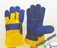 Wapda bass ball mechanic garden indian Grain cowhide wholesaler gloves