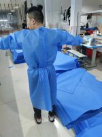 DISPOSABLE PLASTIC GOWN CPE isolation coverall