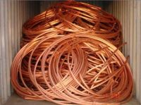 Copper Wire Scrap 99.9% Purity