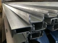 Strong steel channel for construction, building materials for house construction