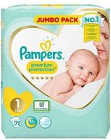 Pampersed Swaddlers Disposable Baby Diapers size 1