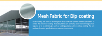 Mesh Fabric for Dip-coating