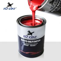 Car paint refinish