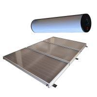 Pressurized forced flat plate split solar hot water system