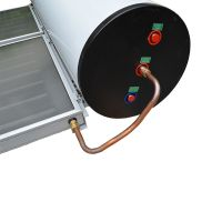 Flat Plate Thermosyphon Integrating solar energy system water heater