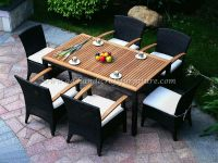 POLY RATTAN DINING SET PRCF-005