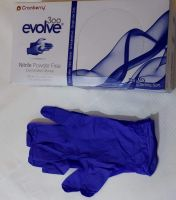 Nitrile glove easy disposable Latex powder free medical glove