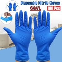 Disposable Rubber Nitrile Protective Gloves