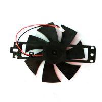 Plastic fan starter for microwave