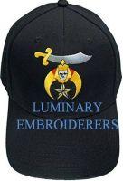 Masonic Caps, Cheap Masonic Caps, Embroidered logo caps, custom logo caps