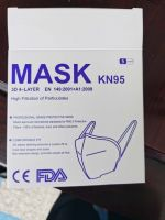 The masks, type ff p2 or ff p3  (n95 grade ), rubber strings fitted