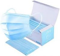 Disposable 3 Ply Earloop Anti Virus Ce Surgical Medical Face Mask