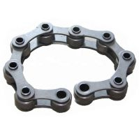 steel hollow pin chain short pitch roller chain