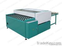 Glass cleaning and drying machine