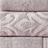 Floral Jacquard Towel