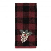 Jacquard , Embroidered Hand Towel