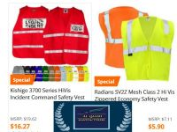 Leather cotton yarn fahion & safety outwears