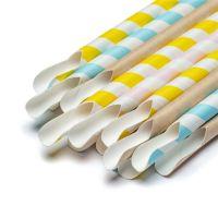 free sample paper spoon straws wholesale 10000pcs/carton