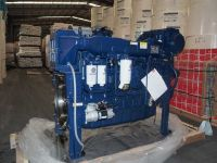 Weichai WD12 6 cylinder marine engine for fishing boat