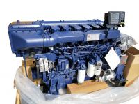 350-550hp Weichai 6 cylinder marine engine for boats