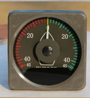 Marine part Inductive Rudder Angle Indicator 24V for boat(hydraulic steering)