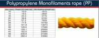 4 Strands Polyethylene Mono-filament rope