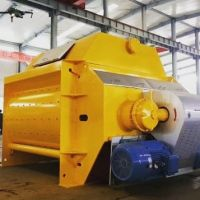 KTSB Twin Shaft Concrete Mixer