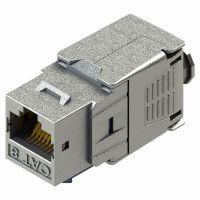 Cat.8 STP Tool-Free Network Keystone Jack