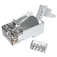 Cat6A STP RJ45 Connector For Ethernet Cable