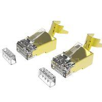 Cat6A RJ45 STP 8P8C RJ45 Connectors For Large Cable