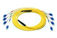 Single Mode OS1 Fiber MTP MPO Trunk Cable