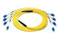 Single Mode OS1 LC Fiber Mini Breakout Cable