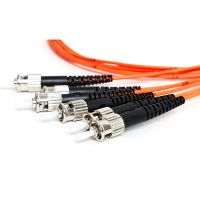 Multi Mode OM2 ST Pigtail Fiber Optic Patch Cord