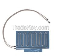 Foiled Heaters for Refrigeration Systems, Foil Heater and Heating Mat For Cooling Systems
