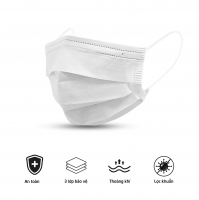 Niva Face Mask - Disposable 3-ply face mask SMS From Vietnam