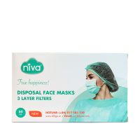 Niva Face mask - Disposable 3-ply -SMS - Made in Vietnam