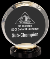 New Design Custom Engraved Clear Acrylic Blanks Award trophy