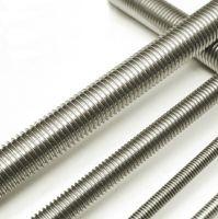 High strength threaded rebars, threaded rods