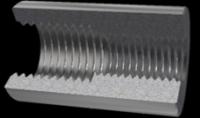 High strength Rebar coupler, threaded rebar coupler, steel coupler