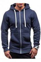 Fleece full-zip hoodie
