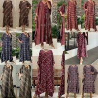 Kaftan batik / longdress batik