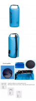 10L portable outdoor camping top waterproof backpack