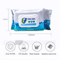 Antibacterial Disinfectant Wet Tissue Wipes Cleaning Fresh Hand Sanitizer Wet wipes Household Dry Cleaning Wipes