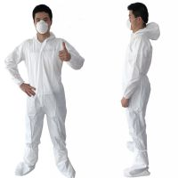 Disposable Medical Protective Isolation Coverall Single-Use PP+PE Gown