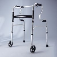 Lightweight Folding Portable Mobility Walker Rollator For The Elder Disabled Adults Walking Aids With Wheels