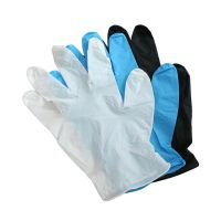 Disposable Examination Gloves Blue Nitrile Powder Free Examination Gloves
