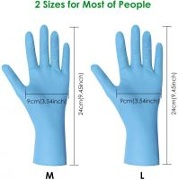 Wholesale 2020 powder free Sterile Nitrile Gloves Latex Gloves