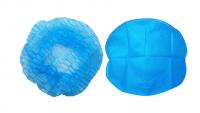 Disposable Non-Woven Surgical Bouffant Cap Clip Cap Elastic Disposable Elastic Disposable Hair Cap